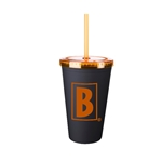 *Orange 'B' Newport Mug 16oz - Consumer