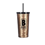 Gold Sequin Mug 24oz