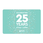 25 Years Celebration  Gift Card