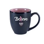 Breast Cancer Ceramic Mug 16oz