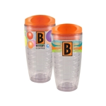 16oz Turbo Tumbler Stripes or Bubbles