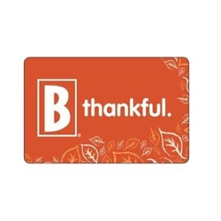 Thankful Fall Gift Card