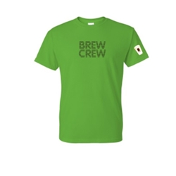 Green Brew Crew T-Shirt - Medium