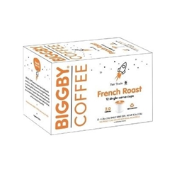 French Roast Single Serve Cups - 12 count per box
