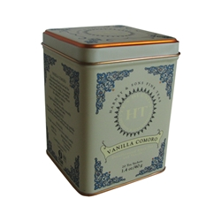 Tea Tin Vanilla Comoro